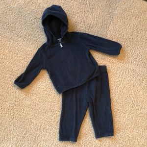 Baby boy French terry active set